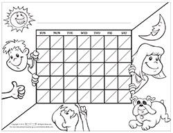 Kids Blank Motivational Chart for Parents